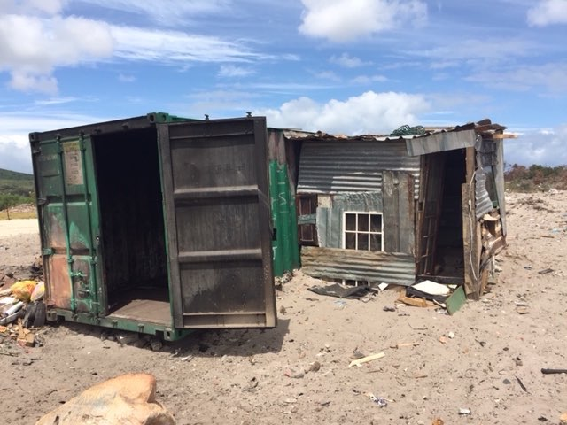 South Africans Lacking Permanent Housing Seen as Squatters