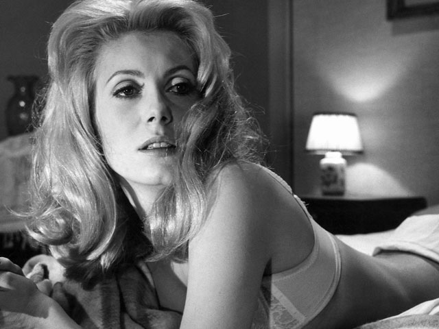 Deneuve sends a message of empowerment, but a dated one